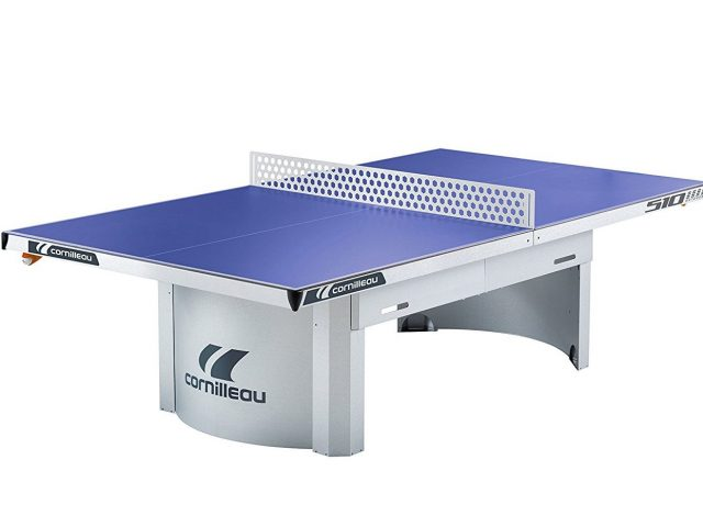 Cornilleau Pro 510 Outdoor Blue Table Tennis Table
