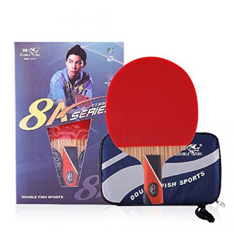Double Fish Carbon Table Tennis Racket 8 Star 8A-C