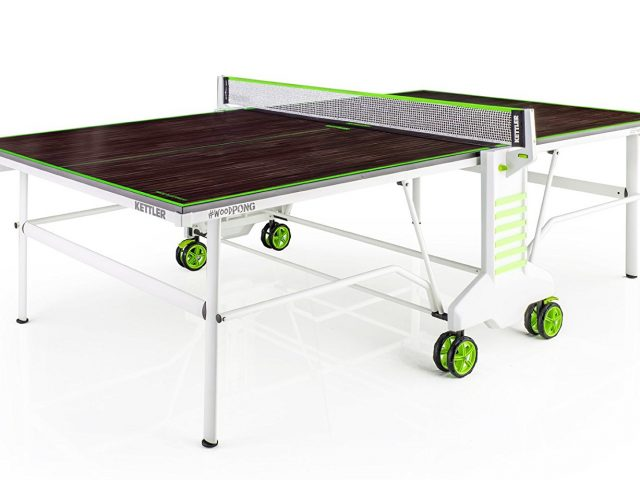 Kettler #WoodPong Outdoor Table Tennis Table