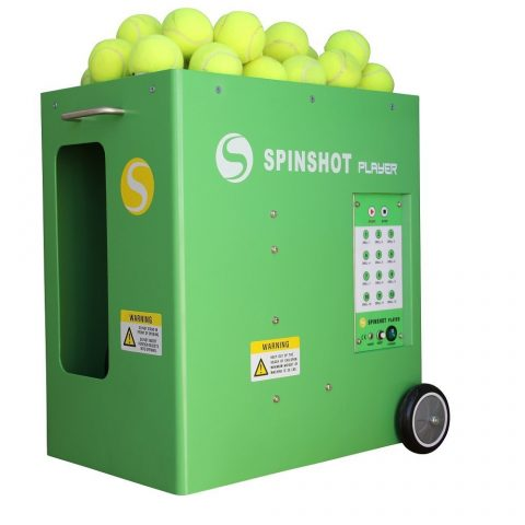 Spinshot-Player Tennis Ball Machine with Phone Remote Supported