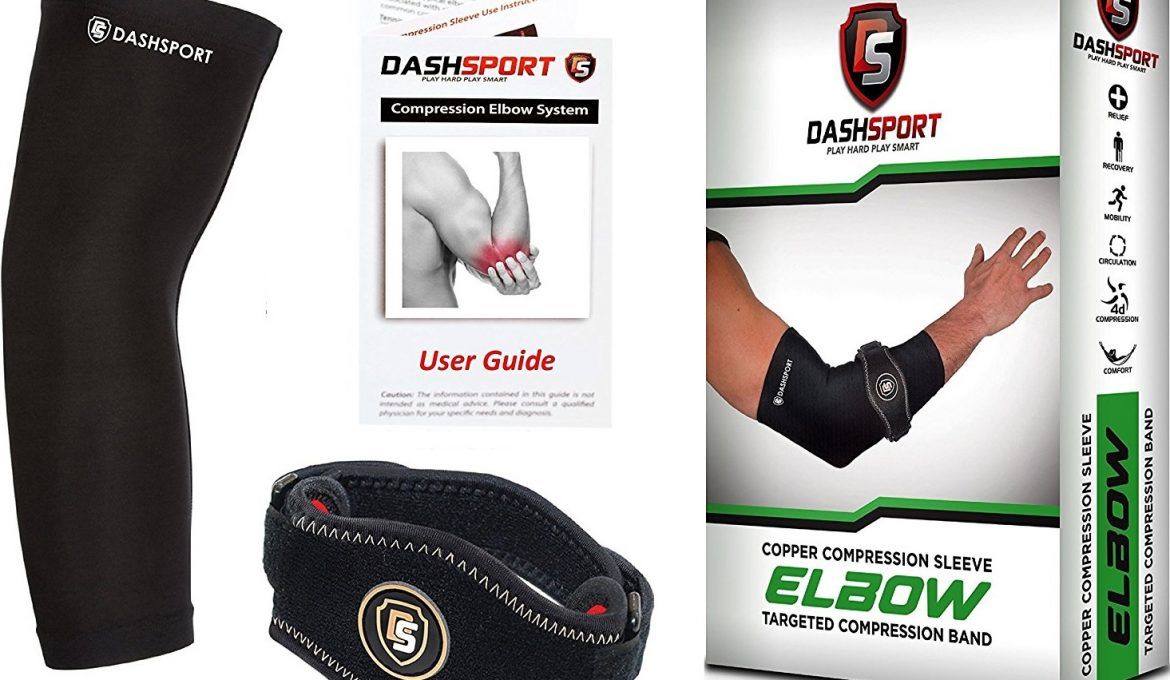 The DashSport Tennis Elbow Brace